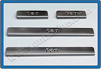 OmsaLine Накладки на пороги Hyundai I-20 2008