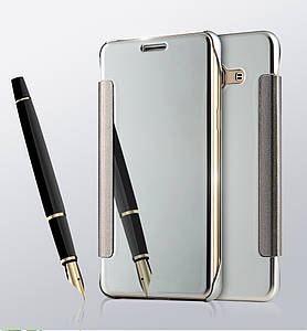 Чехол Mirror для Samsung Galaxy J2 Prime / G532F книжка Silver