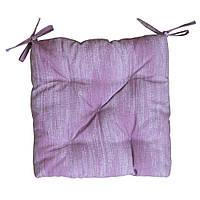 Подушка для стільця 4040 Лонета Бузкова ТМ Прованс