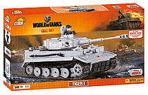 Конструктор COBI World of Tanks Танк Tiger I 555 элементов (5902251030001)