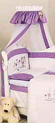 Балдахин для детской кровати Twins Evolution Лето, фиолетовый A-019(8511)