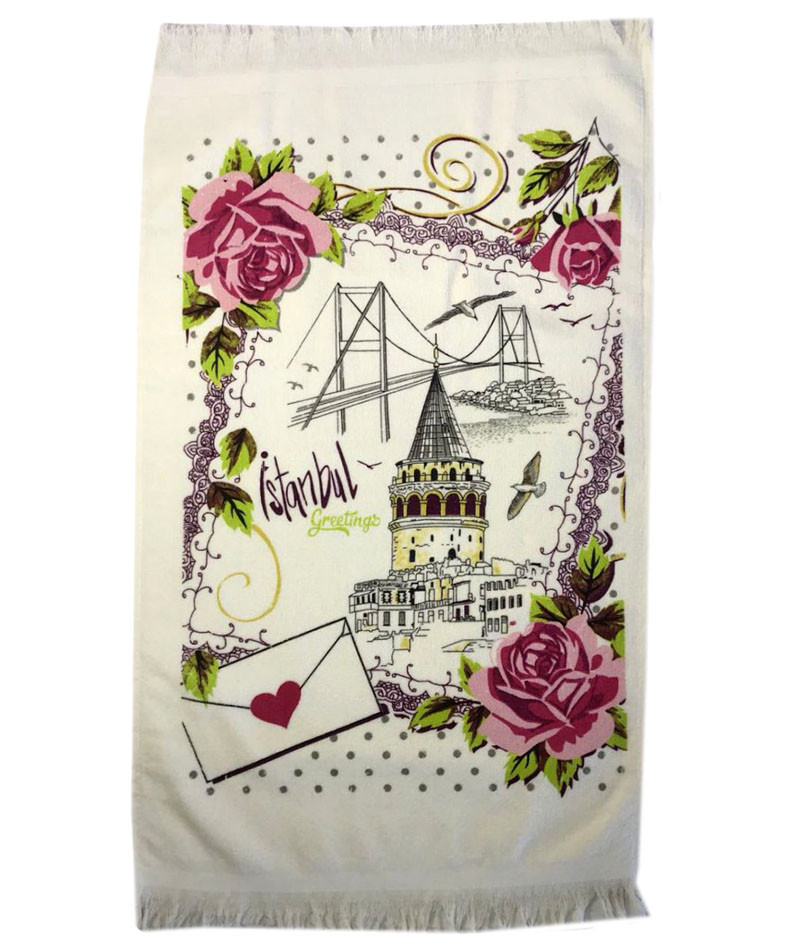 Art of Sultana кухонные полотенца 40x60 (12-шт) махра+велюр