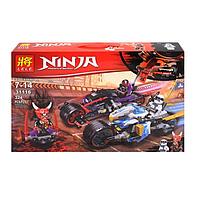 Конструктор LELE Ninja: гонки 324 детали 31116 (53388)