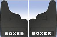 Брызговики резиновые передние для Peugeot Boxer 1994-2006 (прямые)
