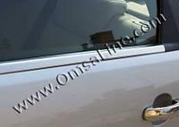 BMW X6 Хром на уплотнитель нерж.