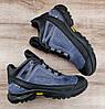 Мужские синие зимние ботинки Ecco Biom. Натуральная кожа и мех., фото 8