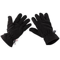 Зимние флисовые перчатки Thinsulate MFH, черные новые