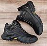 Мужские черные зимние ботинки Ecco Biom. Натуральная кожа и мех, фото 8