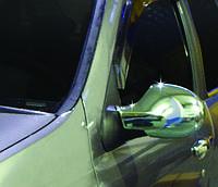 RENAULT CLIO III-SYMBOL накладки на зеркала нерж.