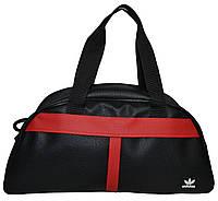 Сумка спортивная Adidas ( 45x23x20 см) черная
