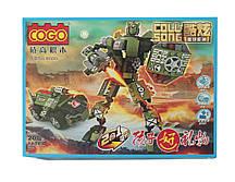Конструктор трансформер Coll-Song 2 в 1 R83 200 деталей (36411)
