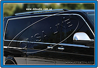 Молдинги стекол длинная база VW T5 Caravelle (14 шт)