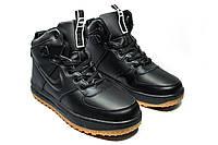 Зимние ботинки (на меху) мужские Nike AF1 1-031 (реплика) 318edd7c6f35b