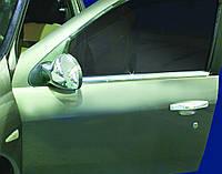 RENAULT CLIO III-SYMBOL Наружняя окантовка стекол (нерж.)