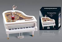 Шкатулка муз Пианино YL2012 48шт с балеринкой, в кор 151617,5см