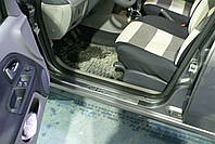 Renault Clio II Накладки на дверные пороги (нерж.) 4 шт