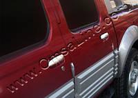 Дверные декоративные накладки на ручки Nissan Sky Star (Pick Up), 2 шт