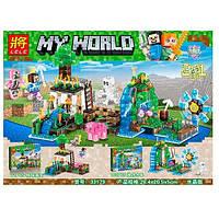Конструктор LELE My World: Мир Майнкрафт 33179 (53245)