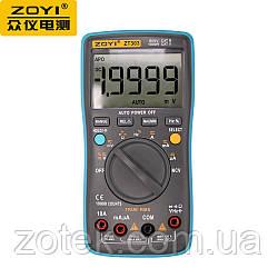ZOYI ZT303 Защищённый Мультиметр ZOYI ZT303 NCV 19999 отсчётов True RMS тестер (RM303) ZOTEK