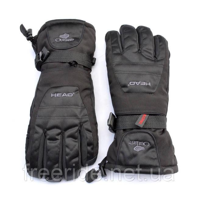 Лыжные зимние теплые перчатки HEAD мужские (M) Replica
