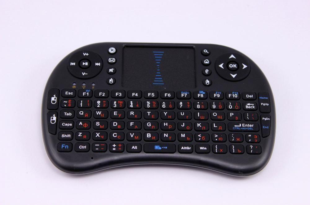 Міні-клавіатура з тачпадом для Смарт TV, ПК, бездротова Android