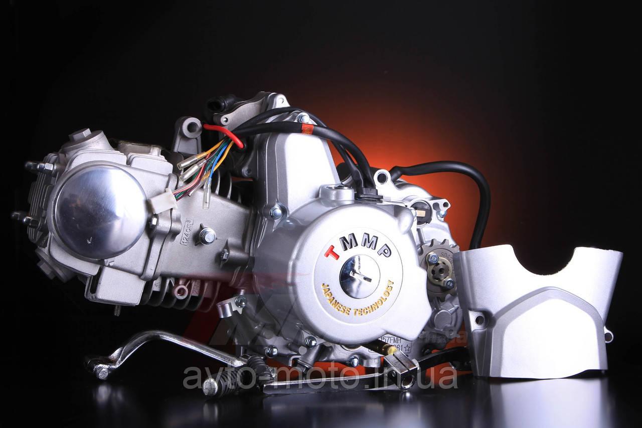 Мотор Дельта/Альфа/Актив 125cc полуавтомат (алюминиевый цилиндр)