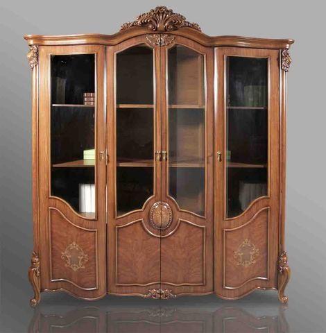 Книжный шкаф 4-х дверный Chester CF-8668