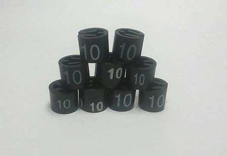 Бирки размерные на плечики, вешалки, тремпеля, размерники 10, фото 2