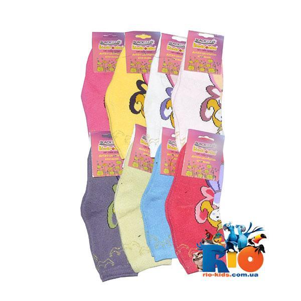 Детские носки (80% хлопок, 20% спандекс), для детей от 1 до 3 лет (9 ед в уп.)