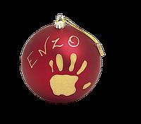 Baby Art Новогодний шар Мое волшебное Рождество. Красные, золотые, серебренные, голубые.