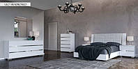 Кровать 154 x 203 DREAM White Geo