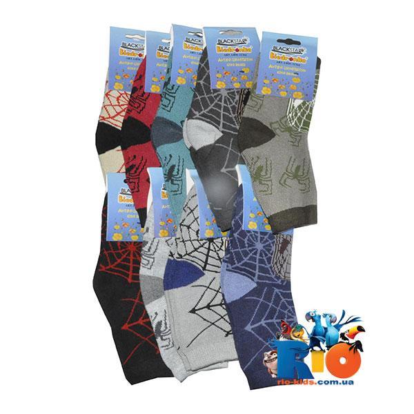 Детские носки (80% хлопок, 20% спандекс), для детей от 5 до 7 лет (9 ед в уп.)