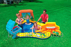 Надувной игровой центр Dinosaur Play Center Intex 57444 (249х191х109 см.)