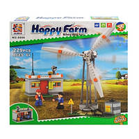 Конструктор JILEBAO Happy Farm: ветряная электростанция 229 деталей 6008 (23780)