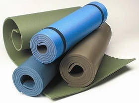 Коврики (карематы) для фитнеса, туризма и отдыха.