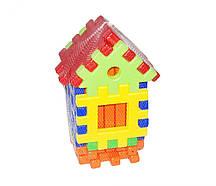 Конструктор пазлы Toys Plast Теремок 31 элемент (17034)