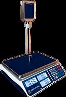 Торговые весы со стойкой ВТД-СЛ 15кг (335*230мм)