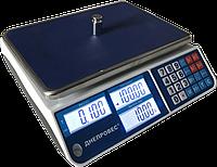Торговые весы без стойки ВТД-СЛ1 15 кг (335*230мм)