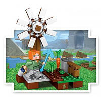 """Конструктор """"Minecraft"""", Майнкрафт, аналог lego, конструкторы, конструктор 33040"""