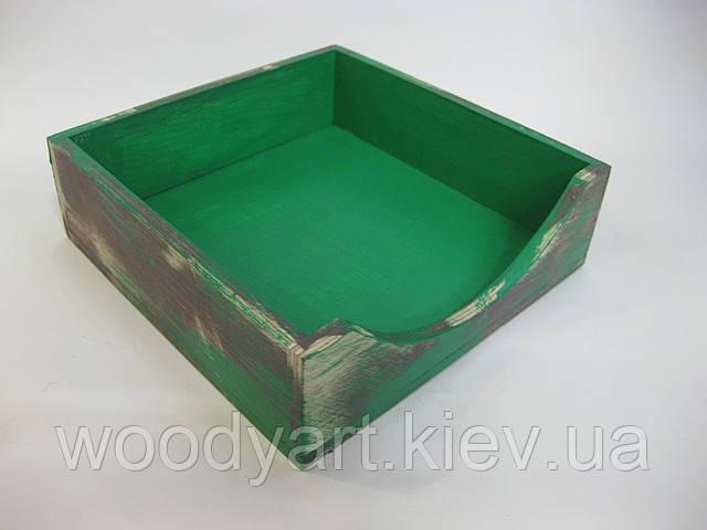 Салфетница квадратная (разные цвета)