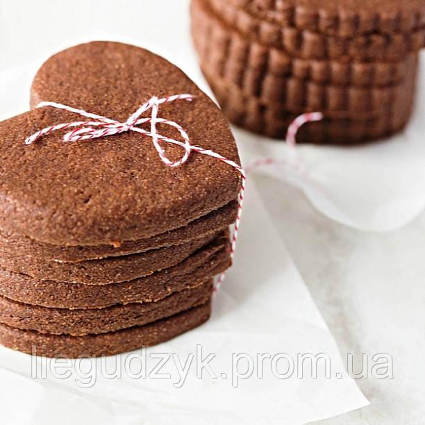 Печиво імбирно-шоколадне для брендування та декорування [серце]