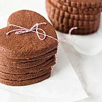 Печиво імбирно-шоколадне для брендування та декорування [серце], фото 1