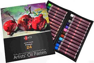 Пастель олійна Santi 24 кольору 353186