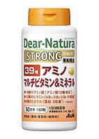 Мультивитаминны і мінерали Японія 150 штук 39 Amino, фото 1