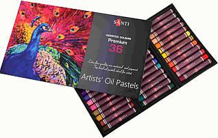 Пастель олійна Santi 36 кольорів 353188