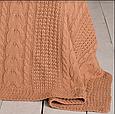Плед-покрывало 150x200 PAVIA RAVEN TERRACOTTA(TERACOTTA) терракотовый, фото 3