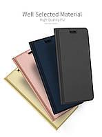 Кожаный чехол книжка Kiwis на LG G7 One (4 цвета)