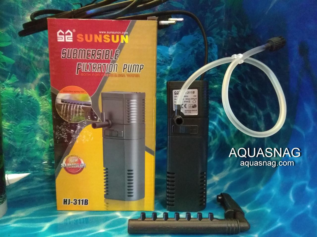 Внутренний фильтр SunSun HJ-311B, до 60л