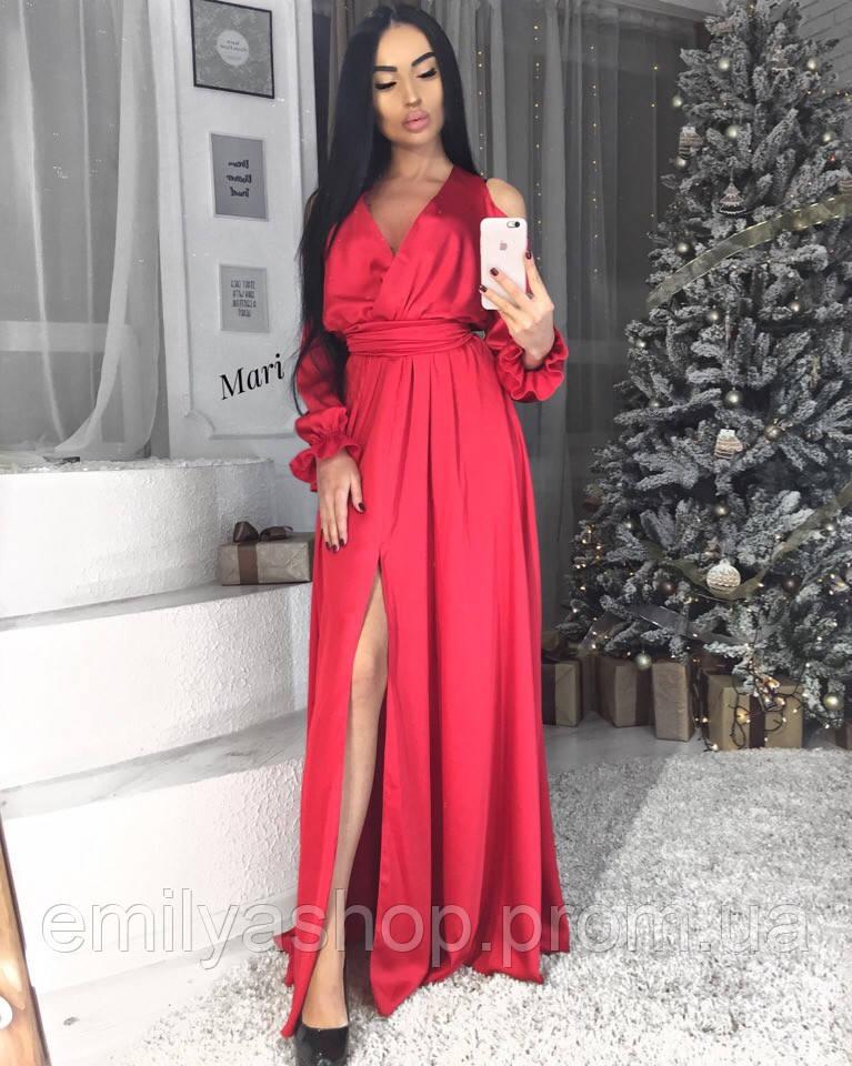 92654ca1e63 Невероятно Красивое Вечернее Платье Из Шёлка с Красивой Юбкой — в ...