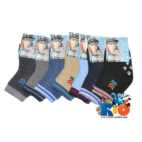Детские носки (80% хлопок, 15% эластан), для детей от 3 до 4 лет (12 ед в уп.)
